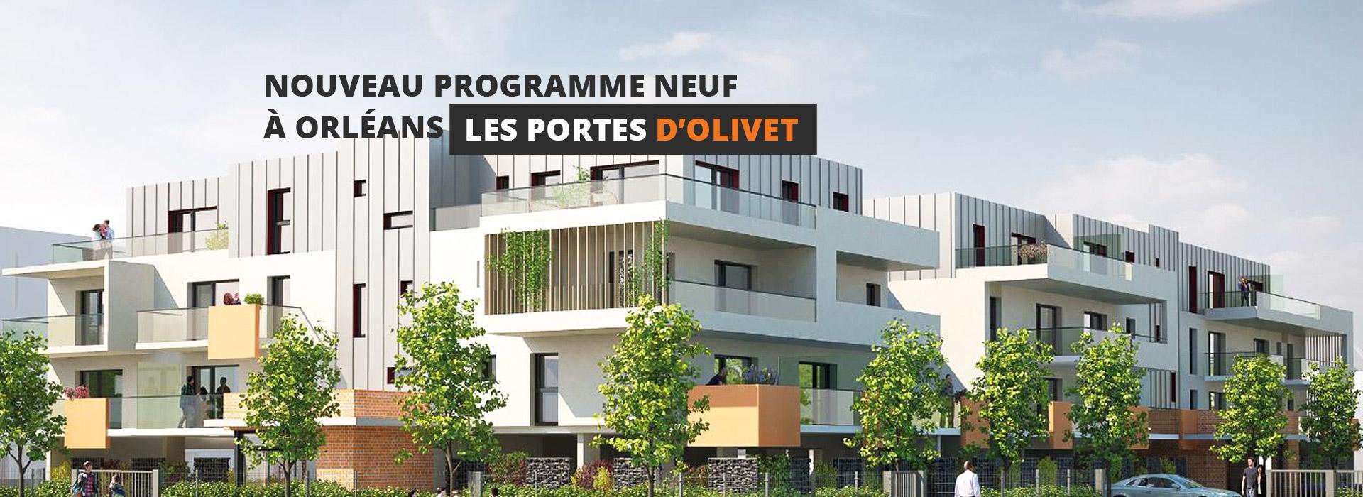 Programme neuf Olivet